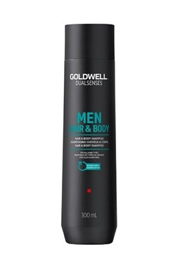 GOLDWELL Dualsenses Men Hair And Body Shampoo 300ml - šampon a sprchový gel pro muže