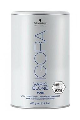 SCHWARZKOPF Igora Vario Blond Plus odfarbovacie prášok platinový melír 450g