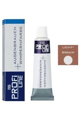 PROFI LINE Farby Profesionálna farba na mihalnice a obočie - Svetlo hnedá
