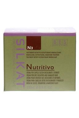 BES Silkat Nutritive N3 Regeneračná zábalová maska \u200b\u200bpre extrémne poškodené vlasy 250ml