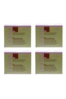 BES Silkat Nutritivo Regenerační zábalová maska pro extra poškozené vlasy 250ml AKCE 3+1