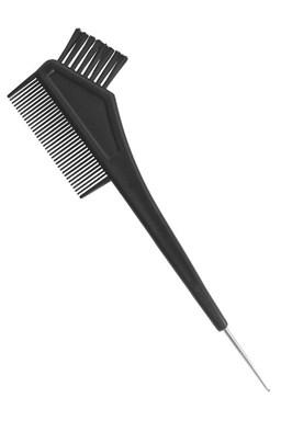DUKO Pomôcky Kadernícky štetec na farbenie vlasov s hrebienkom a kovovým háčikom 21cm
