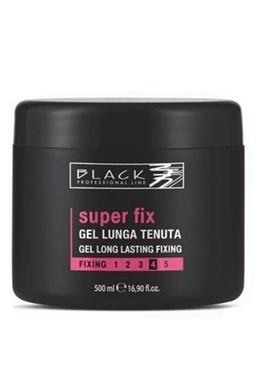 BLACK Styling Super Fix Gel - gél na vlasy extra silno a dlhodobo tužiaci 500ml