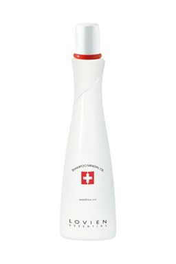 L´OVIEN ESSENTIAL Shampoo Mineral Oil regenerační šampon pro poškozené vlasy 300ml