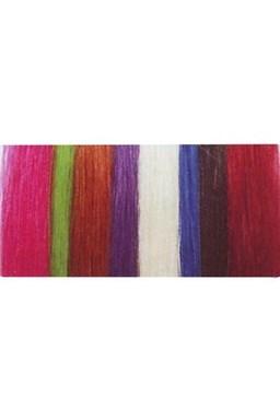 SIMPLY PERFECT Vlasový vzorkovník prameňov vlasov Human Hair - Trendy vlasové pramene 4ks