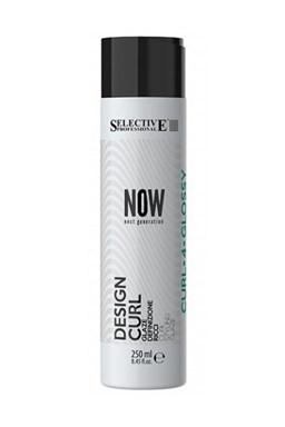 SELECTIVE Now Design Curl 250ml - silno tužiaci lotion pre zvýraznenie vĺn a kučier
