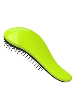 DTANGLER Profesionálna kefa na rozčesávanie vlasov s rukoväťou - čierno zelený