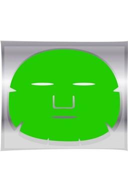 BRAZIL KERATIN Green Tea Mask - regeneračná pleťová maska \u200b\u200bna tvár 1ks