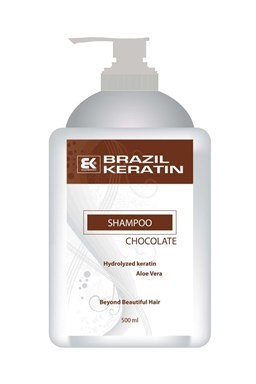 BRAZIL KERATIN Shampoo Chocolate hĺbkovo regenerujúce keratínový šampón 500ml