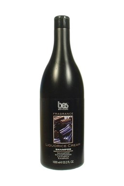 BES Fragrance Liquorice Cream šampón na vlasy aj telo s vôňou sladkého drievka 1000ml