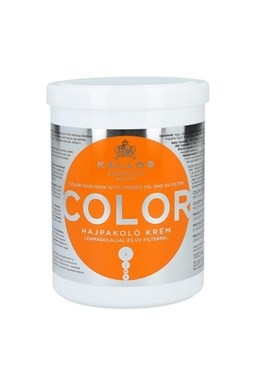 Kallos KJMN Color Hair Mask 1000ml - maska \u200b\u200bna farbené a poškodené vlasy