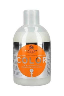 Kallos KJMN Color Shampoo 1000ml - šampón na farbené a poškodené vlasy