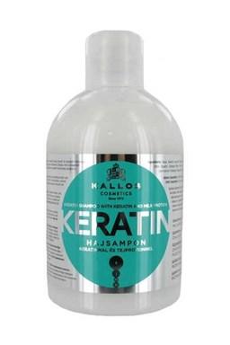 Kallos KJMN Keratin Shampoo 1000ml - regeneračný keratínový šampón na suché vlasy