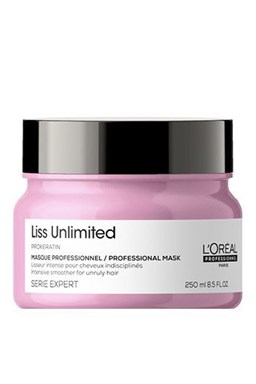 L'Oreal Expert Liss Unlimited Mask 200ml - maska \u200b\u200bna suché a nepoddajné vlasy