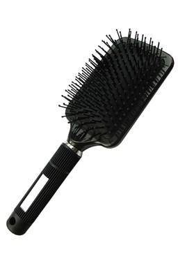 DUKO Professional Rozčesávacia hranatý kefa na vlasy 14řad - čierny