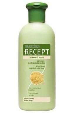 SUBRINA Recept Strong Hair - šampón proti vypadávaniu vlasov 400ml