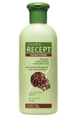 SUBRINA Recept Double Power - šampón proti lupinám a proti padaniu vlasov 400ml