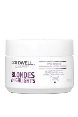 GOLDWELL Dualsenses Blondes And Highlights 60sec.Treatment 200ml - maska \u200b\u200bpre bielu blond