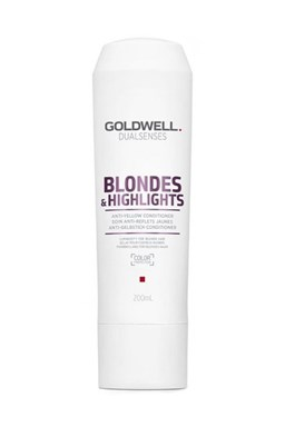 GOLDWELL Dualsenses Blondes And Highlights Conditioner 200ml - neutralizuje žlté odtiene