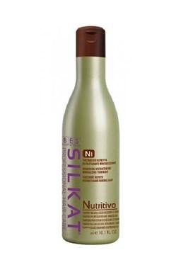 BES Silkat Nutritive Shampoo N1 - šampón na veľmi poškodené vlasy 1000ml