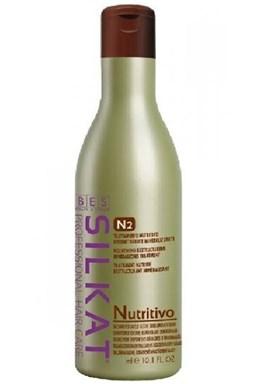 BES Silkat Nutritive Balsamo N2 - vyživujúci balzam na poškodené vlasy 1000ml