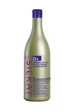BES Silkat D4 Ristrutturante Shampoo regeneračný šampón na farbené vlasy 1000ml