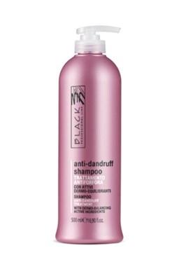 BLACK Péče o vlasy Anti-Dandruff Shampoo vlasový šampon proti lupům 500ml