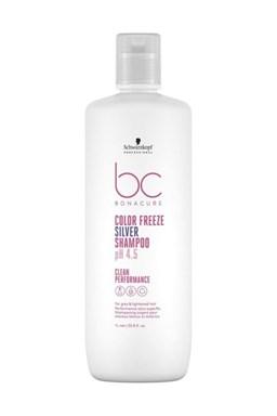 SCHWARZKOPF BC Color Freeze pH 4.5 Silver Shampoo 1000ml - strieborný šampón na melír vlasy