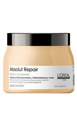LOREAL Serie Expert Absolut Repair Gold Quinoa Mask 500ml - maska na velmi poškozené vlasy