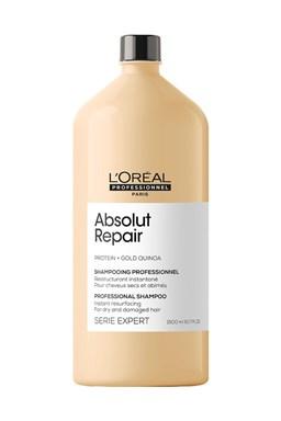 LOREAL Serie Expert Absolut Repair Gold Quinoa Shampoo 1500ml - pro velmi poškozené vlasy