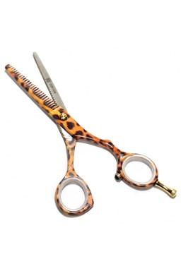 PRE FEEL JAPAN LEOPARD C09-528 EFIL30 profesionálny efilačné nožnice na vlasy 5,5 '