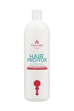 KALLOS KJMN Hair Pro-Tox Shampoo 1000ml - šampon s kolagenem, keratinem a kyselinou hyaluronovou
