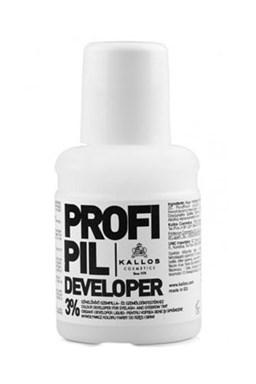 Kallos Cosmetics Profi Pil Developer 3% 60ml - oxidant k farbám na obočie Kallos