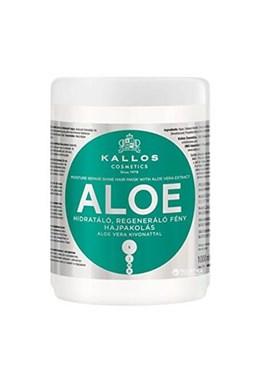 Kallos KJMN Aloe Hair Mask 1000ml - hydratačná maska \u200b\u200bs Aloe Vera na suché vlasy