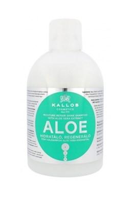 Kallos KJMN Aloe Shampoo 1000ml - hydratačný šampón s Aloe Vera na suché vlasy