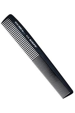 KIEPE Professional Active Carbon 515 - karbónový antistatický pánsky hrebeň na vlasy 181x28mm