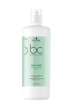 SCHWARZKOPF BC Collagen Volume Boost Shampoo 1000ml - šampon pro větší objem vlasů