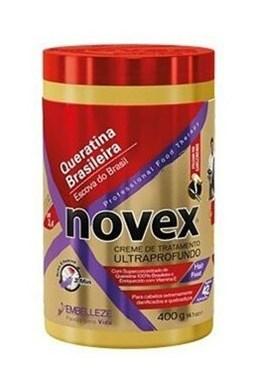 NOVEX Brazilian Keratin Deep Treatment Shampoo 400g - kúra s brazílskym keratínom