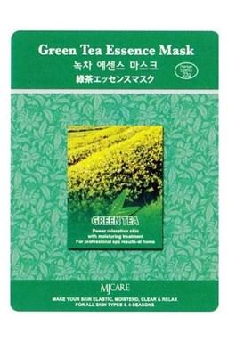 MJ CARE Green Tea Zelený čaj - antioxidačné čistiaca pleťová maska \u200b\u200bproti vráskam