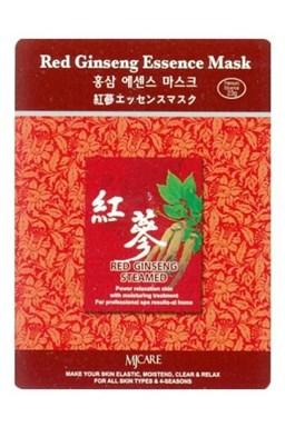 MJ CARE Red Ginseng Červený Žien Šen - luxusné pleťová maska \u200b\u200bvyhladzujúce vrásky