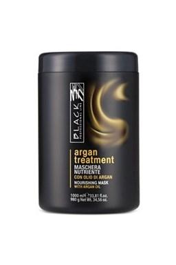 BLACK Argan Treatment Maschera 1000ml - arganový regeneračná maska \u200b\u200bna poškodené vlasy