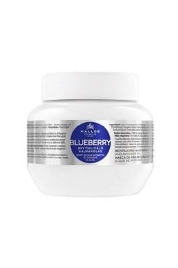 Kallos KJMN Blueberry Hair Mask 275ml - maska \u200b\u200ba chemicky poškodené vlasy