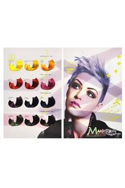 KLÉRAL MagiCrazy Vlasový vzorkovník pre intenzívne farby na vlasy MAGICRAZY