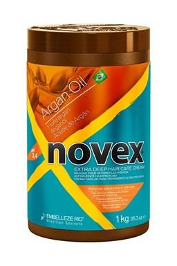 NOVEX Argan Oil Deep Treatment Shampoo 1000g - arganový kúra na poškodené vlasy