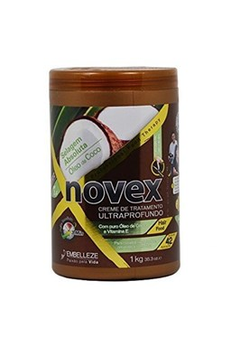 NOVEX Coconut Oil Deep Treatment Shampoo 1000g - kúra na suché vlasy s kokosom