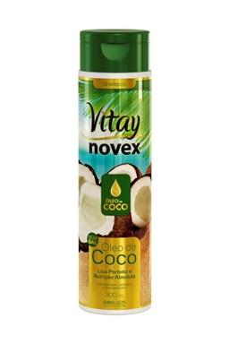 NOVEX Coconut Oil vitae Shampoo 300ml - šampón na suché vlasy s kokosovým olejom