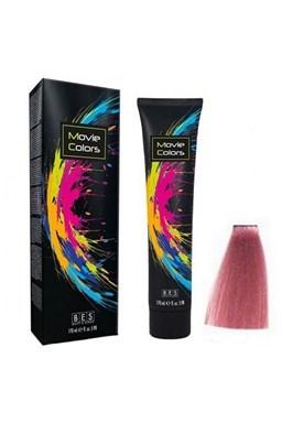 BES Movie Colors Pink - gelová barva na vlasy bez amoniaku 170ml - růžová