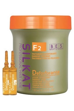 BES Silkat F2 Deforforante Lotion 12x10ml - tonikum proti lupinám