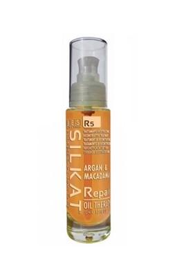 BES Silkat R5 Repair Oil Therapy 50ml - opravný olej na rozdvojené končeky