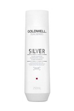 GOLDWELL Dualsenses Silver Shampoo 250ml - šampón proti žltým tónom blond vlasov